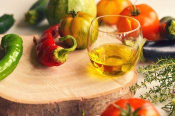 Photo légumes potager huile olive