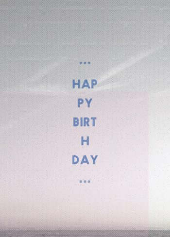 Océan, carte d'anniversaire imprimable / Ocean, birthday card printable and royalty free for visual identity, graphic design or decoration.