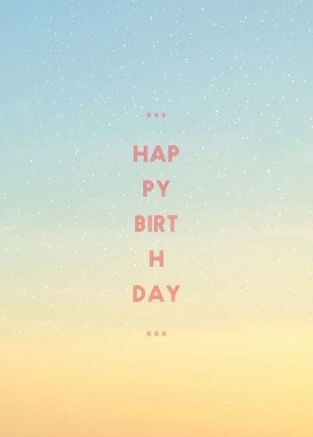 Soleil, carte d'anniversaire imprimable / Sun, birthday card printable