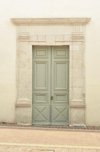 Photo Ville Architecture Porte Verte Gris Ancien