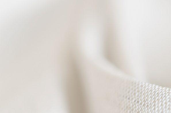 Tissu naturel en lin : détails de la fibre • Image haute résolution libre de droits à télécharger