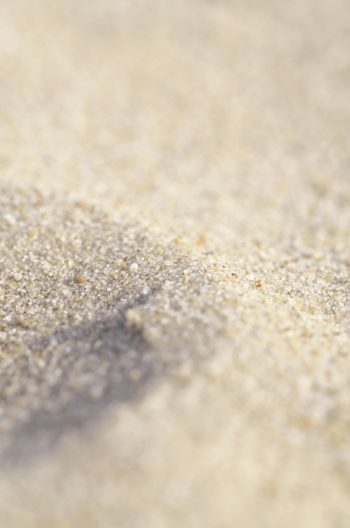 Sable : détails et texture • Photo macro de plage • Image libre de droit