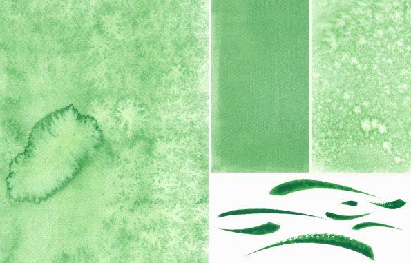 Texture Pack aquarelle vert • Peintures & Fonds à télécharger