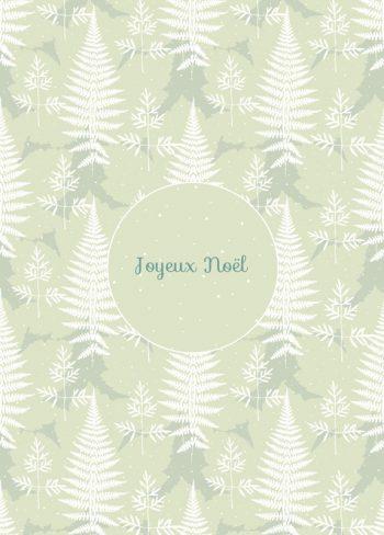 Nature enchantée, carte de Noël • Téléchargeable & Imprimable