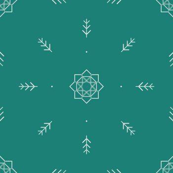 Noël scandinave : carte illustrée de sapins à Télécharger & à Imprimer • Carte de noël imprimable