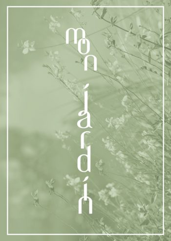 Mon jardin - Poster downloadable and printable • Creative Lune