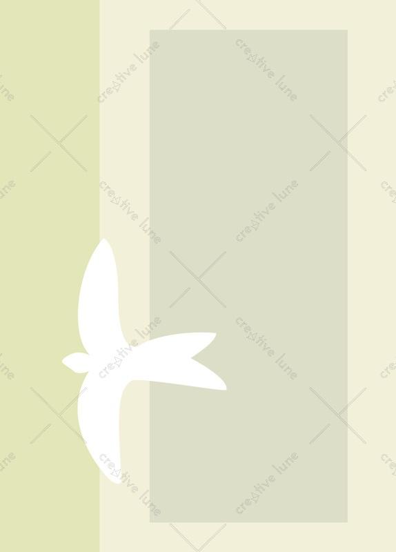 Dove - printable card with bird illustration • Creative Lune