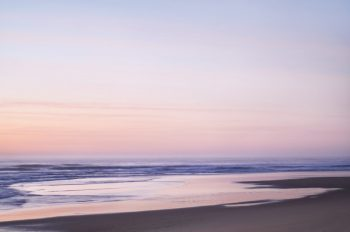 Océan rose - photo paysage des Landes à télécharger • Creative Lune