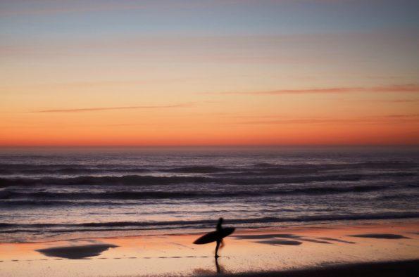 Surfer à l'océan - photo surf & Landes à télécharger • Creative Lune