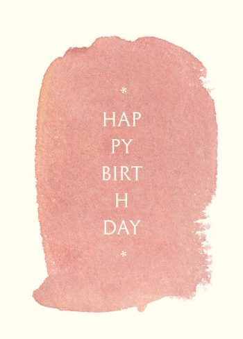Aquarelles, lot de 3 cartes d'anniversaire à imprimer / Watercolour, set of 3 birthday cards printable