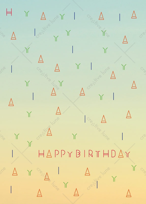 Indien, carte d'anniversaire à imprimer / Indian, birthday card printable