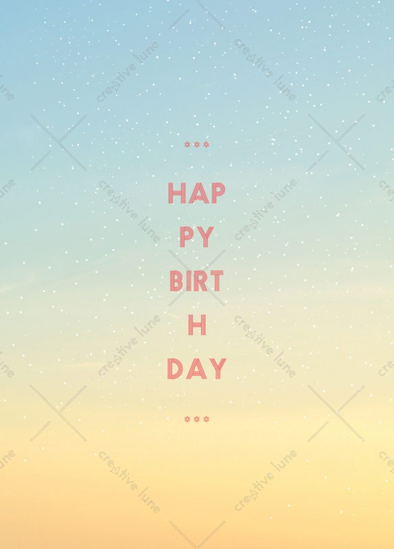 Soleil, carte d'anniversaire imprimable / Sun, birthday card printable
