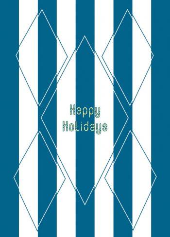 Seaside : holidays card Downloadable & Printable