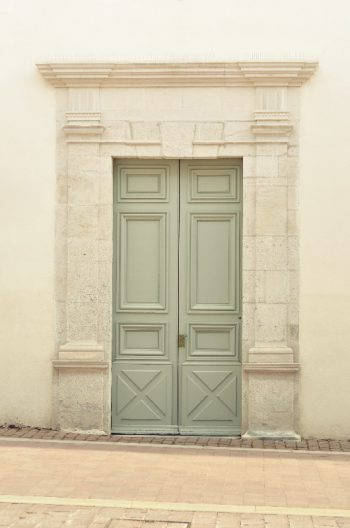 Photo Ville Architecture Porte Verte Gris Ancien
