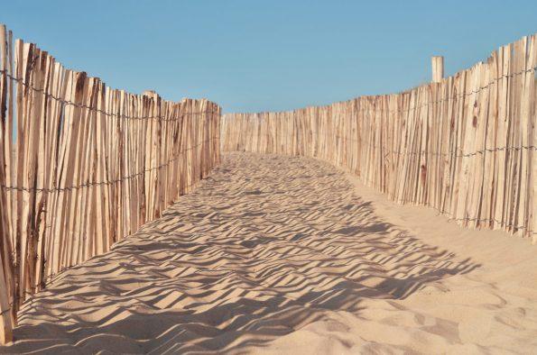 Sentier dans la dune, image haute résolution libre de droits à télécharger pour identité visuelle, communication et décoration. Mer Ocean Paysage Marin
