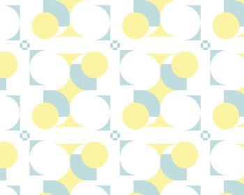 Géométrie, motif minimaliste haute résolution libre de droit à télécharger et à imprimer / Geometry, minimalist pattern high resolution downloadable and printable. Royalty free Print Graphic Round Art Deco Yellow Blue Design Light Illustration
