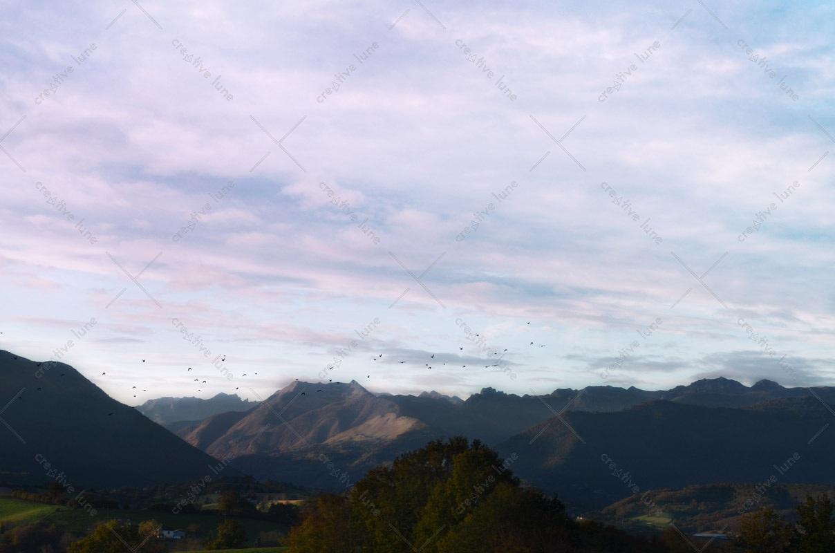 Montagne des pyr n es format paysage photographie for Agence format paysage