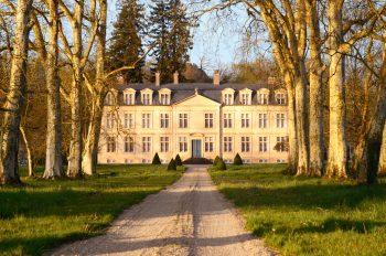 Château landais du XVII ème siècle • Photo Landes & Sud-ouest libre de droit / Image du château d'Amou à télécharger - Creative Lune : Banque d'images