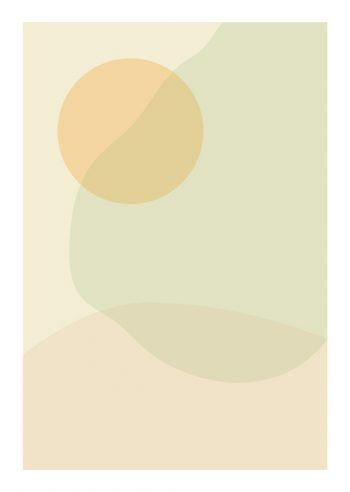 Terre de couleurs - affiche abstraite à imprimer • Creative Lune