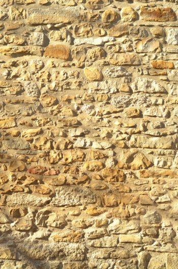 Mur de pierres au soleil - photographie à télécharger • Creative Lune